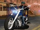 Fahren Sie verschiedene Arten von Harley Davidson-Motorrädern auf einer Ho