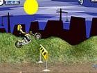 Moto Rallye Spiel - können Sie fahren und springen über die unebenem Gelände