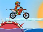 Moto X3M 5 Pool Party ist ein erstaunliches Motocross-Stunts-Spiel voller gef&a