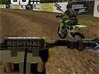 Fahre in Motocross FPS über viele Level auf den Schlammstrecken. Schalte n