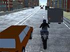 Der Motorradverkehr zieht Sie in die Hektik der Stadt. Sie haben vor langer Zei