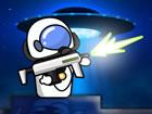 Mr. Space Bullet ist ein lustiges 2D-Spiel, in dem du deine Feinde erschie&szli
