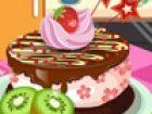 Dekorieren Sie Ihre Früchte-Kuchen die Art, wie Sie sie lieben. Wählen Sie di