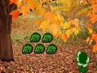In diesem Natur Herbst WaldFluchtspiel bist du im Naturherbstwald gefange