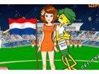 Helfen Sie dieser dedizierte Netherland Fußball-Fan in das beste Outfit erhalt