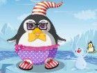 Frosty das Baby Pinguin liebt Eislaufen, Angeln und Schneeballschlachten, aber
