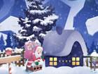Der Weihnachtsmann bringt dir zu Weihnachten Schokolade. Aber im neuen Jahr has