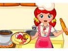 Emma lädt Sie in ihrer Küche, wo Köche leckere Gerichte mit nur frische Zuta