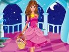 Eine wunderschöne Prinzessin Partei werden hal...