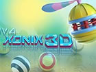 Ein klassisches 3D-Remake des Xonix-Spiels a...