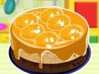 Zeit, um die köstlichen Käsekuchen orange Band für die Party zu kochen. Befo