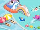 Wer will Spritzen über Wasser im Pool? Dieser Wasserpark ist ein erstaunlicher