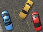 Parken Sie das Taxi ist ein Parkplatzspiel - fahren Sie durch die enge Stadtstr