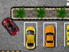 Parken Sie das Auto so genau wie möglich auf der markierten Fläche, o