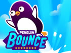 Starten Sie einen Pinguin so weit wie möglich! Fliegen Sie schnell, spring