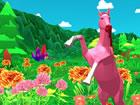Spiele als Pferd, während du die offene Welt von Horse Simulator 3D erkund