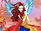 Ein Phönix Engel Mädchen müssen Kleid sein, und das ist, was Sie tun müssen