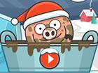 Piggy in the Puddle 3 ist ein 2D-Puzzlespiel mit einem niedlichen Schwein, das