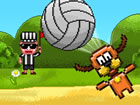 Pixel Volley is a fun and entertaining volleyball game featuring pixelated char