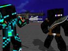 Begleite Pixel Wars und kämpfe auf einem Schiff oder einem Kreuzer. Die belieb