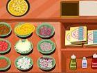 Pizza-Shop - beginnend mit Pizza base Zutaten werden hervorgehoben. Klicken sie