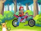 C\'est le jeu de Sacha sur une moto bike, c\'est ...