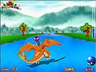 Spielen Sie dieses lustige Spiel und das großartige Charizard Pokemon. Si