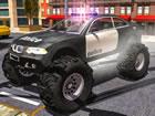 Wollten Sie schon immer einen 4x4 Polizei Monster Truck in der Stadt fahren und