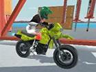Port Bike Stunt ist ein 3D Motorrad rennspiel mit Strecken aus Transportbeh&aum