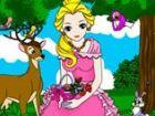 Prinzessin Alice liebt Tiere sehr viel. Heute kommt sie nach ihrem Märchenland