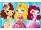 Rina, Lucia und Judy sind drei Prinzessinnen aus den drei reichen Ländern. Sie