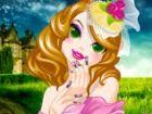 Eine Prinzessin namens Lilly lebt glücklich in einer Burg, wo jeder Dame wunde