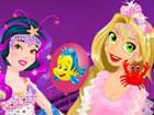 Prinzessin Mermaid Parade ist das schöne Mode-Spiel, in dem Sie Disney Prinzes