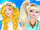 Yaaaay, der Sommer ist endlich da! Die Prinzessinnen Aurora und Elsa beschlosse