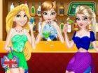 Anna ist mit Elsa und Rapunzel verärgert, weil sie nicht eingeladen haben sie