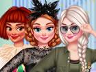 Diese Mädchen bereiten sich auf die Karnevalsparty vor und lassen sich tol
