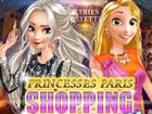 Elsa und Rapunzel sind in Paris und wollen neue modische Kleidung, Schuhe und A