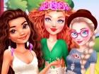 Glamping ist der glamouröse Campingplatz, den die Prinzessinnen im Sommer lieb