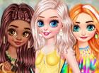 Es ist Zeit, die neuen Sommertrends zusammen mit den Disney-Mädchen zu pr&