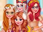 Die Prinzessinnen lieben den 70er-Jahre-Stil und werden sich heute entsprechend