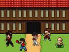 Beschütze dein neu offenes Dojo vor Rivalen, die deine Kampfkunstpapierrol