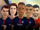 Spielen Sie mit berühmten Stars der Pariser Saint Germain Fußballer