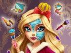die Tochter eines fairen Königin zu sein, nimmt eine ganze Prinzessin Schönhe