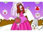 Sophia wird eine romantische Hochzeit im Schnee haben. Der wichtigste Moment ko
