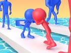 Pusher 3D ist sowohl ein Strategie- als auch ein Push-Arcade-Spiel mit 3D-Stick