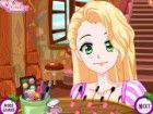 Prinzessin Rapunzel dreht 16. Sie braucht eine ...