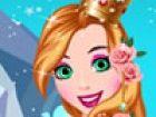 Machen Prinzessin Rapunzel bereit für diese Jahre Abschlussball. Make-up ihr,