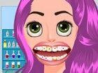 Nette Prinzessin Rapunzel brauchen einen Experten Zahnarzt sofort letzten Tagen