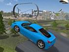Erstaunliches Auto-Stuntspiel mit vielen Supersportwagen. Fahren Sie in der Sta