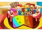 Meine beste Freundin Anna Geburtstag ist morgen! Sie liebt Regenbogenfarben seh